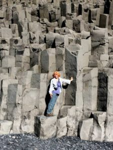 West End News - Nancy Dorrans in Iceland