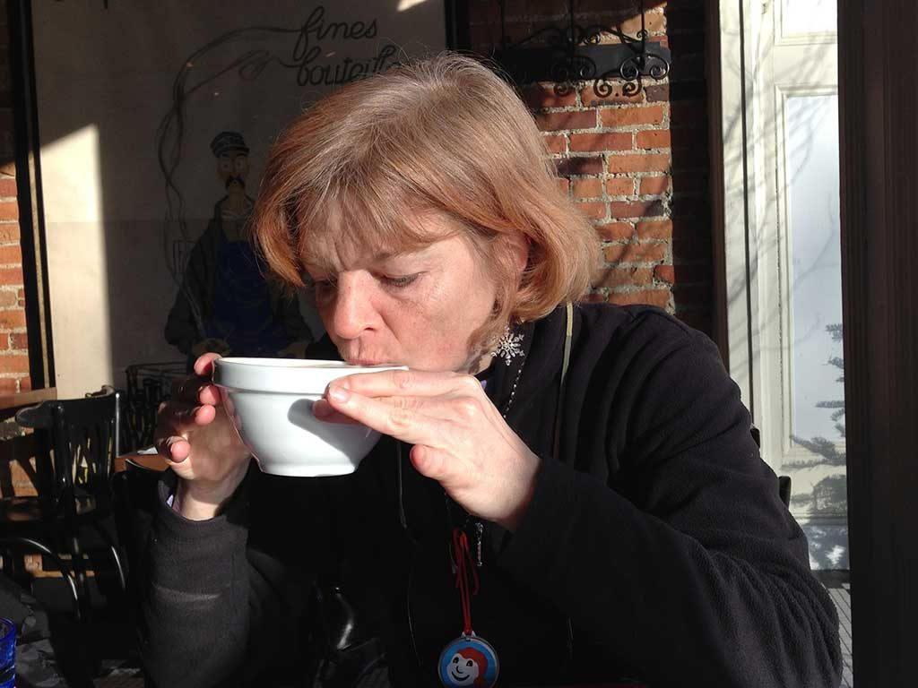 West End News - Nancy Dorrans coffee house in Quebec