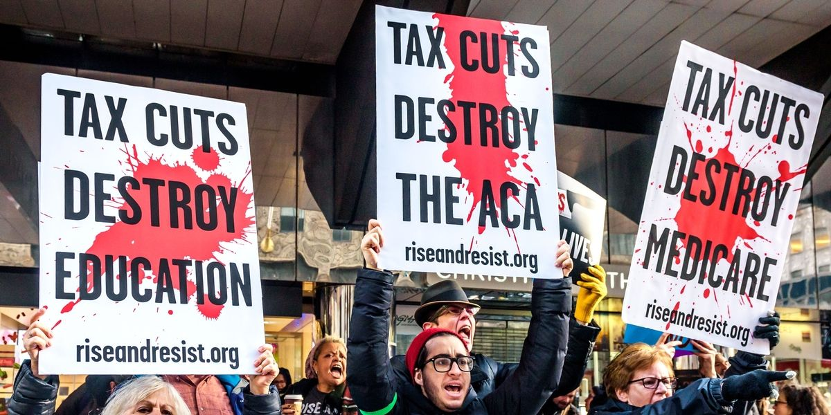 Resist the GOP's Tax Heist!