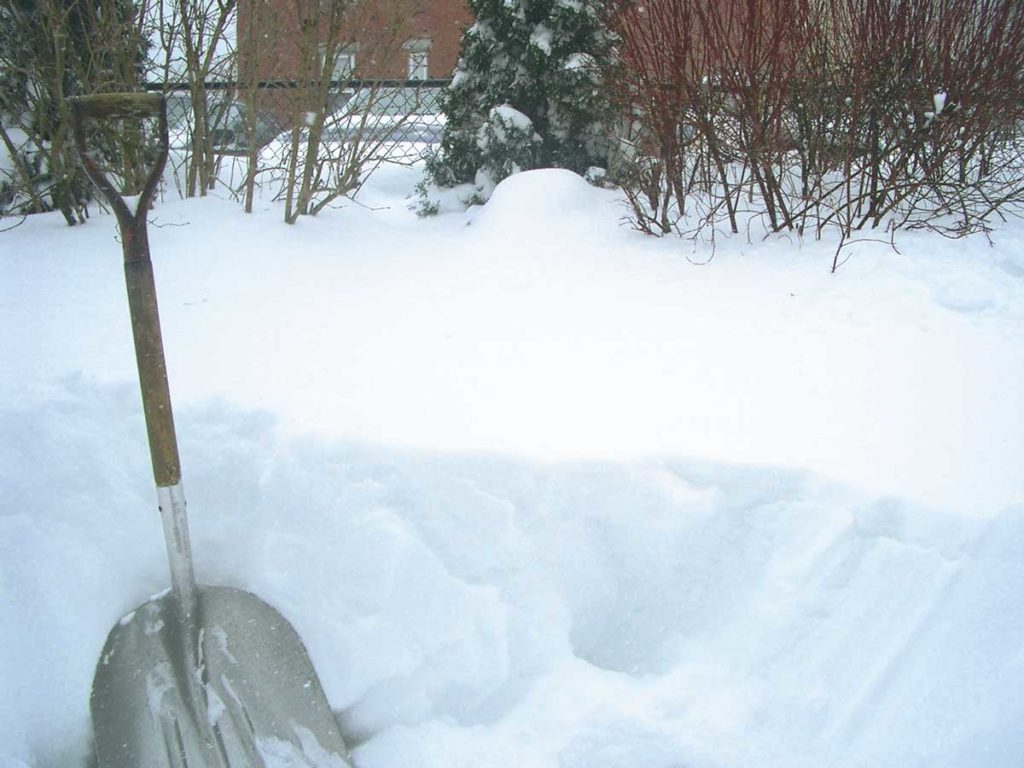 West End News - Snow Shoveling