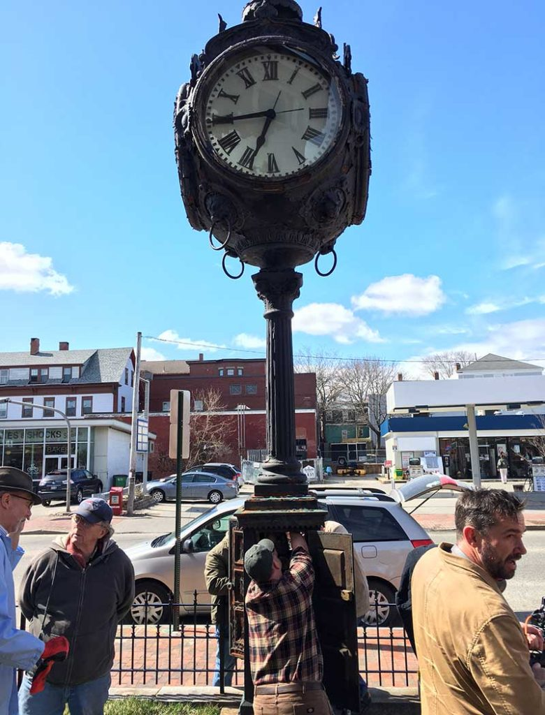 West End News - Hay Peabody Seth Thomas clock at The Francis