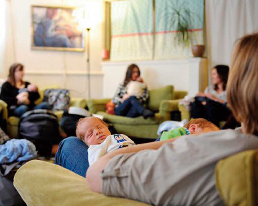 West End News - Birth Roots - Physical Space