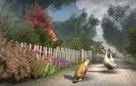 Local Develops Game about Cats on Maine Island