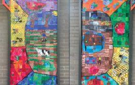 Community Art Around the Corner & Underfoot