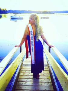 West End News - Whitely Marshall Competes for Mrs. Maine - Courtesy W. Marshall