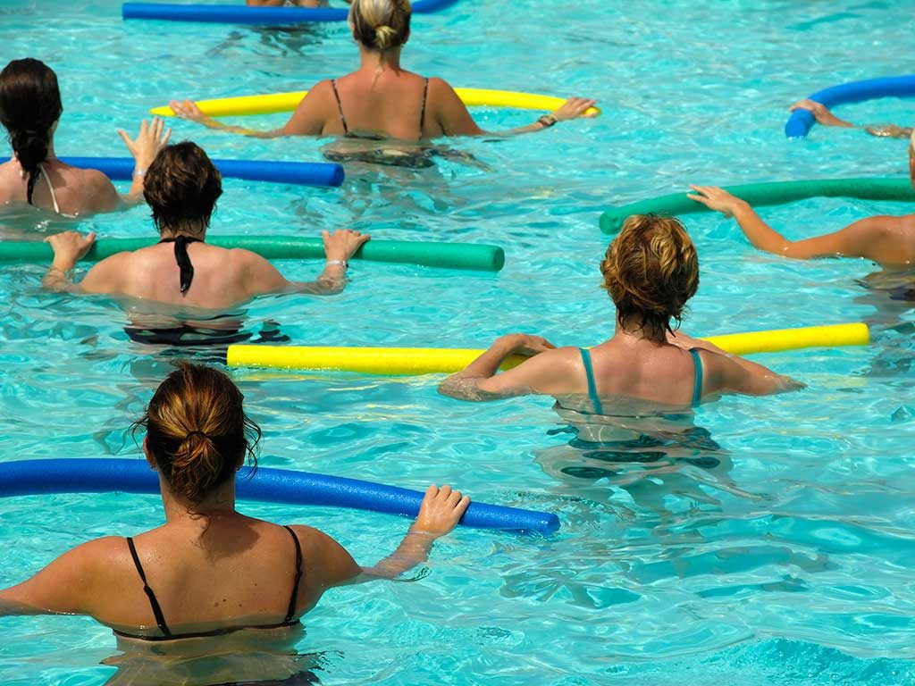 West End News - Exercise - Swimming - Water aerobics