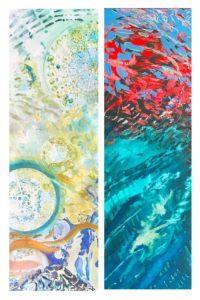 West End News - Krisanne Baker, Phytoplankton Dreaming II