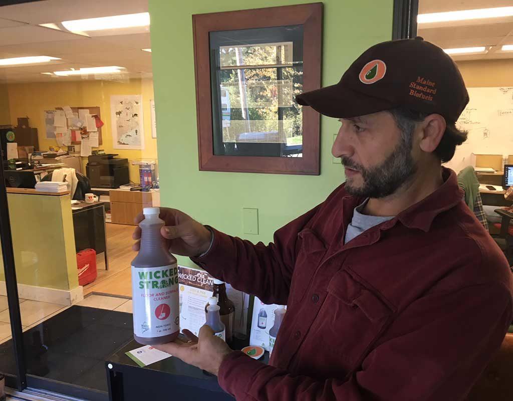 West End News - Maine Standard Biofuels - Jarmin Kaltsas