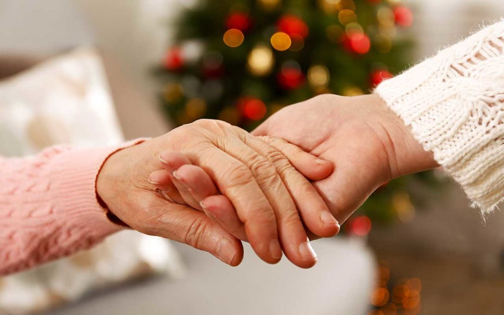 West End News - hands over the holidays Adobe Stock photo