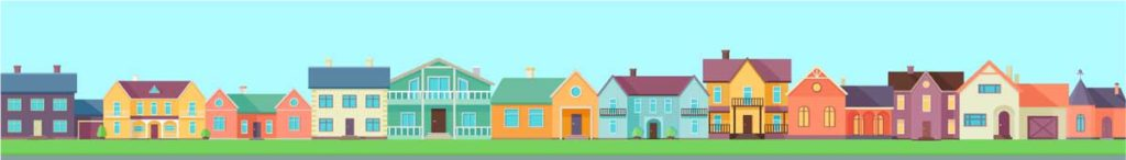 West End News - houses illustration - Adobe Stock license