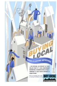 West End News - Buy Local poster winter 2018