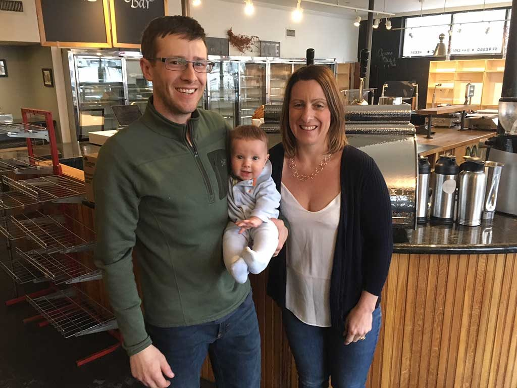 West End News - Blue Spoon owners Liz Koenigsberg and husband, chef Will Lavey
