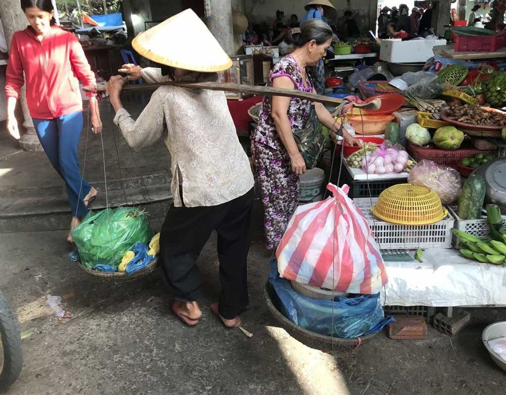West End News - Tiger Market - Hoi An Vietnam - By Nancy Dorrans