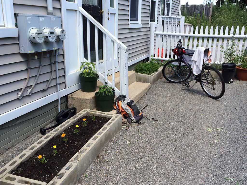 West End News - Spring - Why not garden on asphalt?