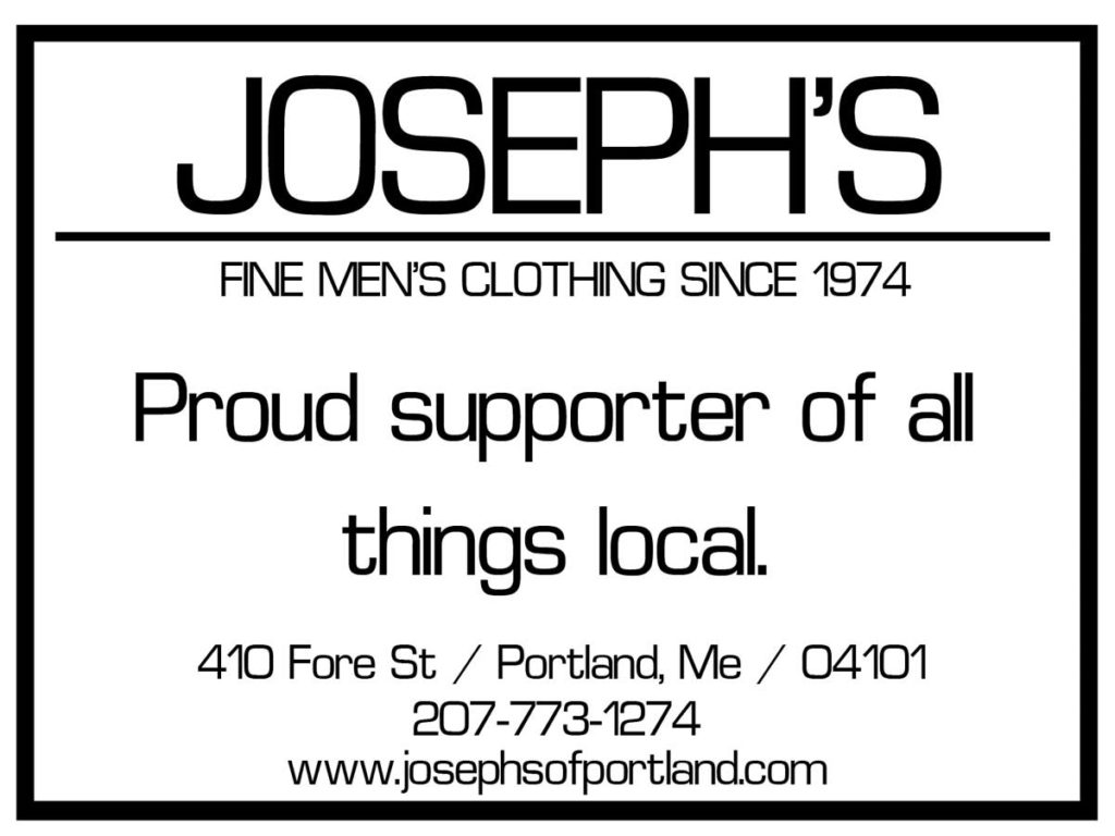 Joseph's Fine Mens Clothing - Proud to support 'Pillars of Portland'
