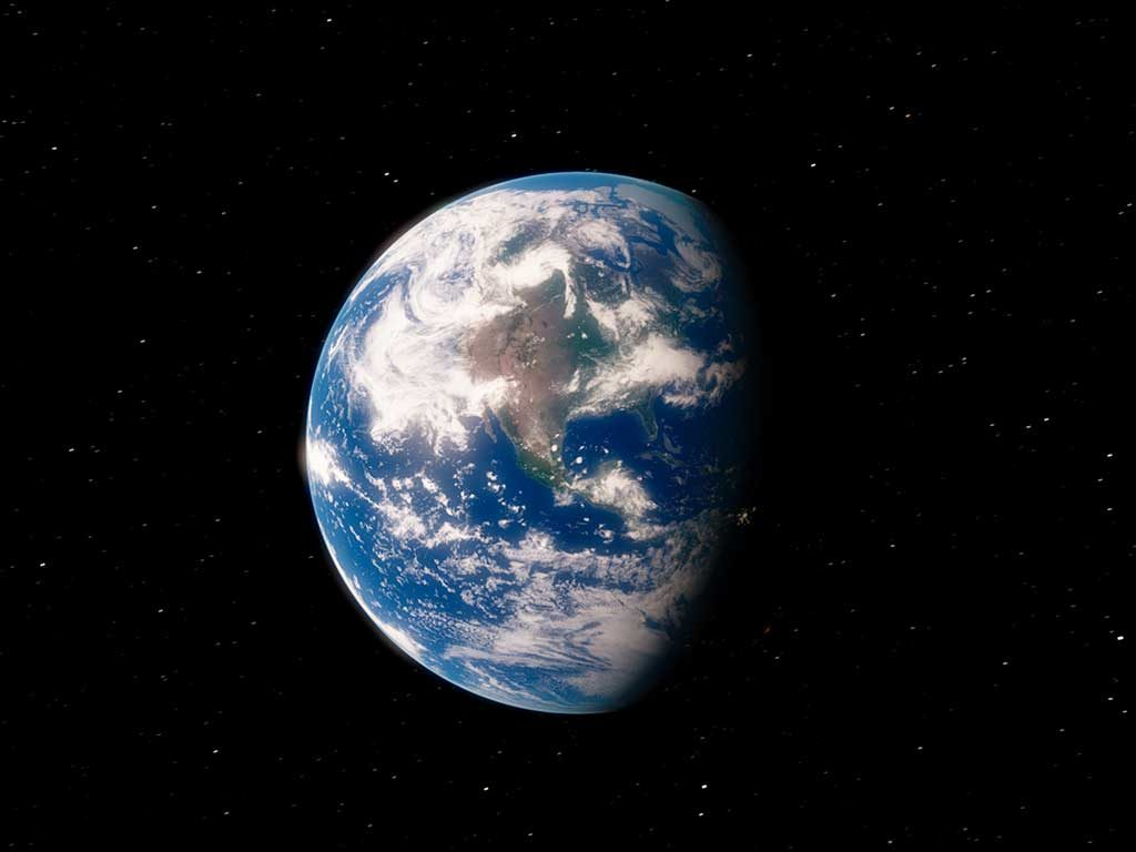 Planet Earth from space 3D illustration (Elements of this image furnished by NASA) By Infinity Nostalgia / Adobe Stock