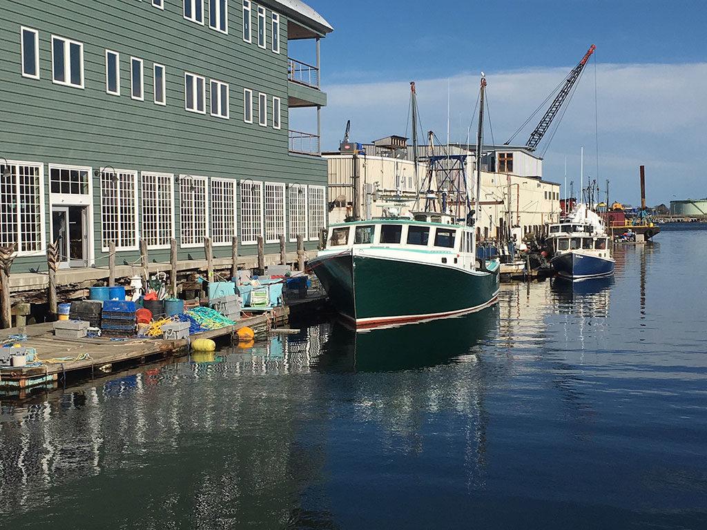 West End News - Portland, ME Waterfront by Tony Zeli