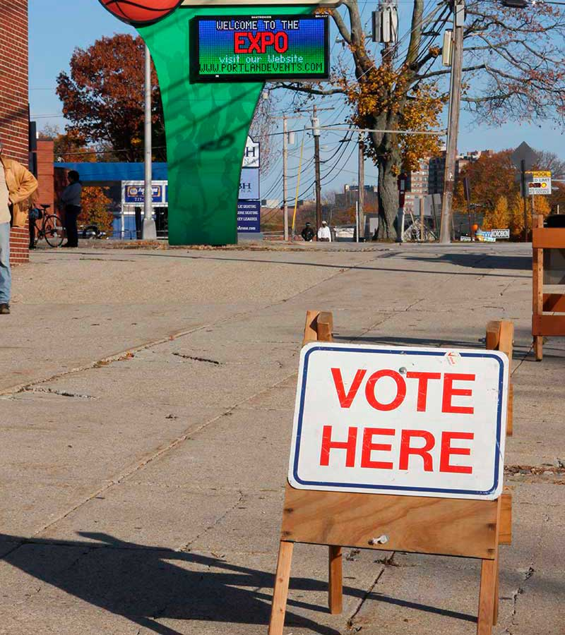 West End News - La Vida Local - Voting place - Expo - File photo