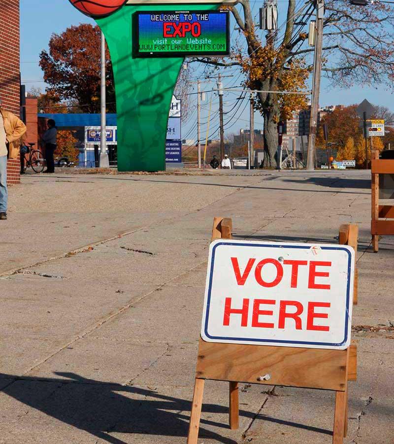 West End News - La Vida Local - Voting place - Expo - File photo