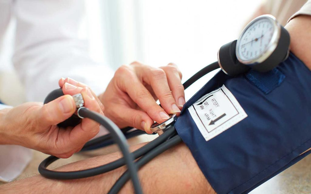 West End News - Timing of blood pressure medication - dr. takes blood pressure
