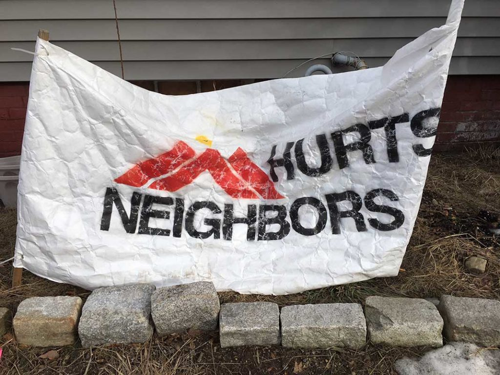 West End News - 'MM Hurts Neighbors' banner