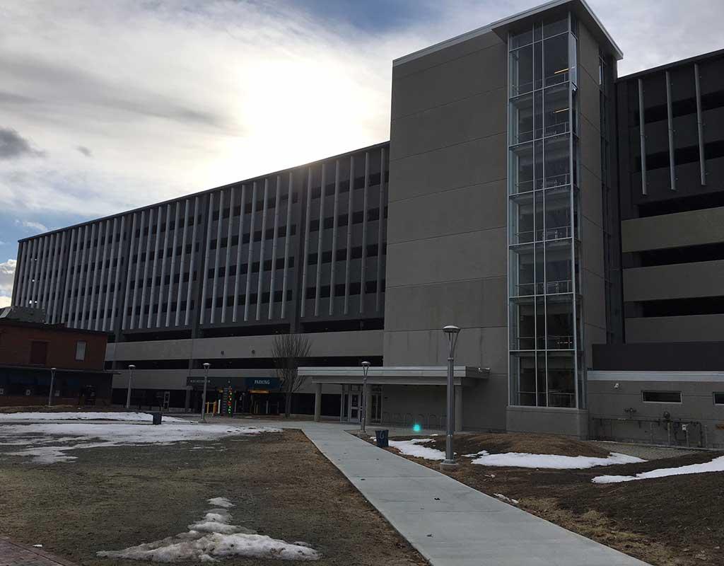 West End News - Maine Medical Center Employee Garage