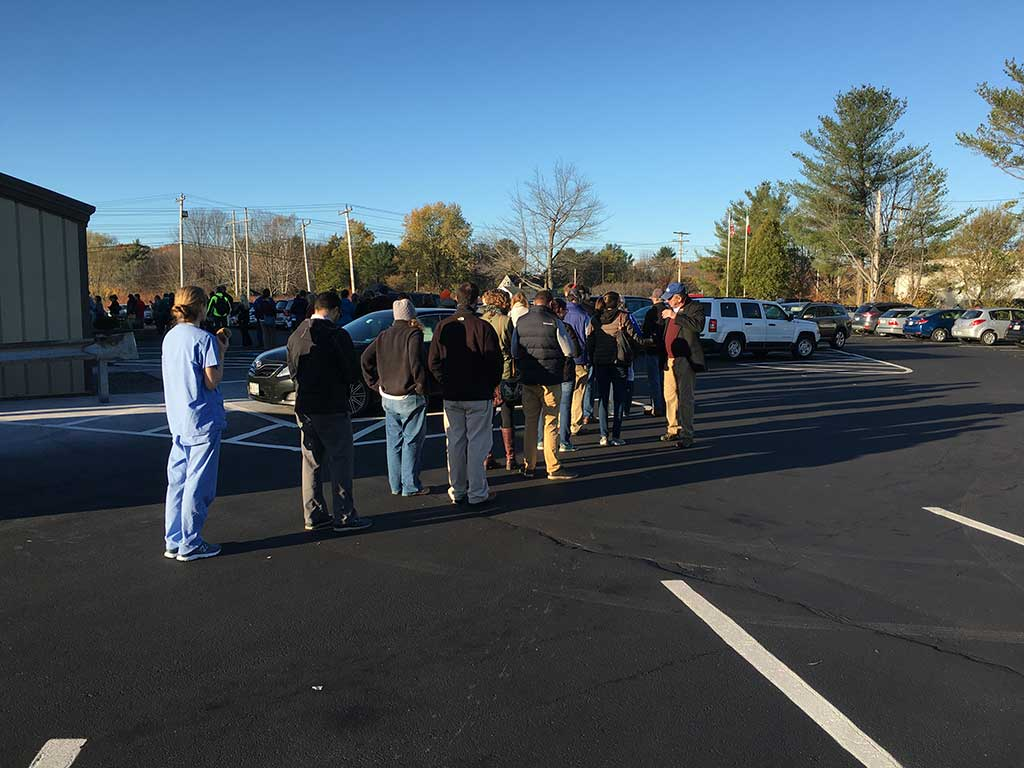 West End News - Election Day challenges may include long lines like these at IHC