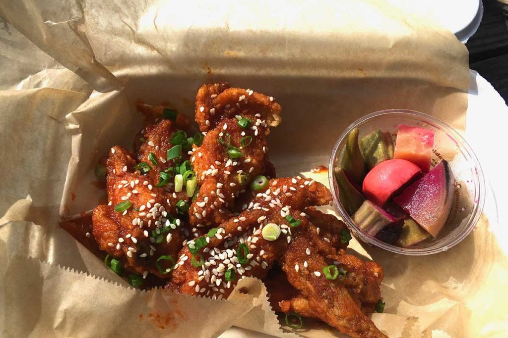 West End News - Dining Out in Portland, Maine - Figgy's Takeout - Korean wings