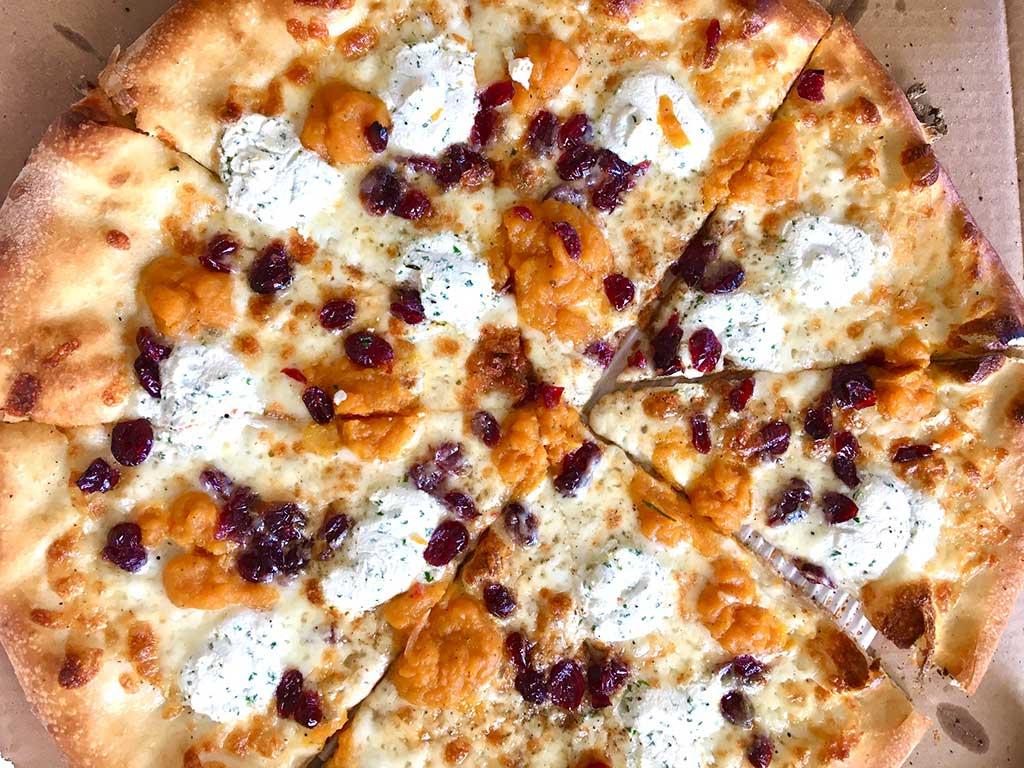 West End News - Otto Pizzza - butternut squash cranberry ricotta