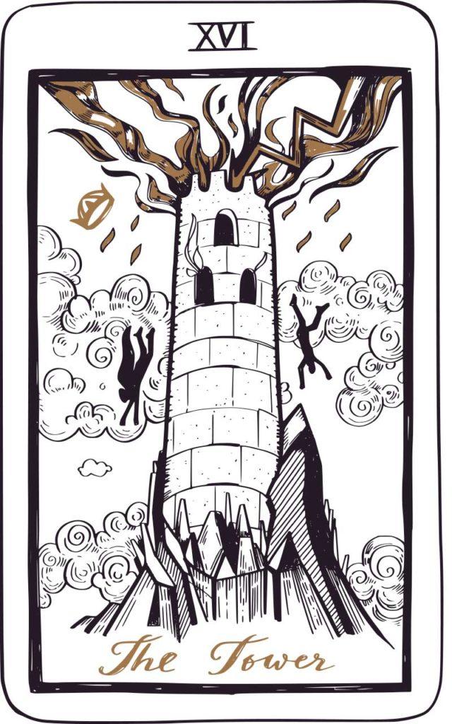 West End News - Tarot Card - The Tower