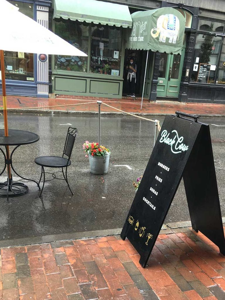 West End News - Black Cow on-street dining - By James Fereira