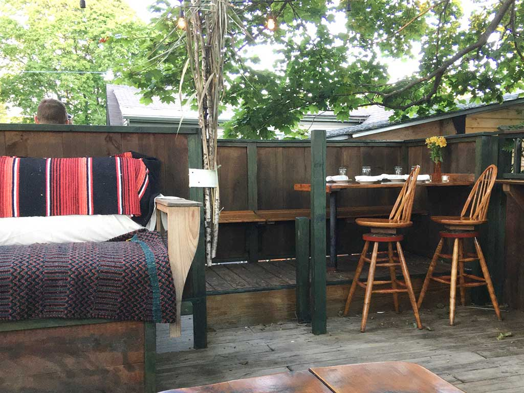 West End News - The Treehouse upstairs deck - By James Fereira