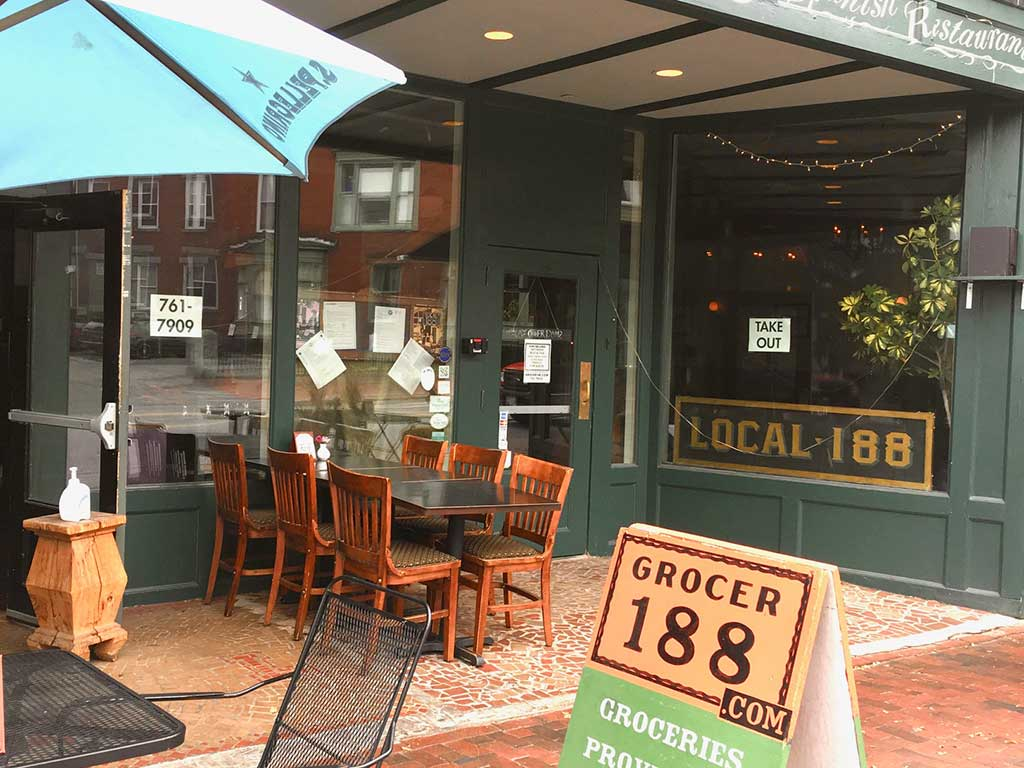 "West End News - ""Grocer"" 188 - Local 188 will be open for dining out on Thanksgiving"