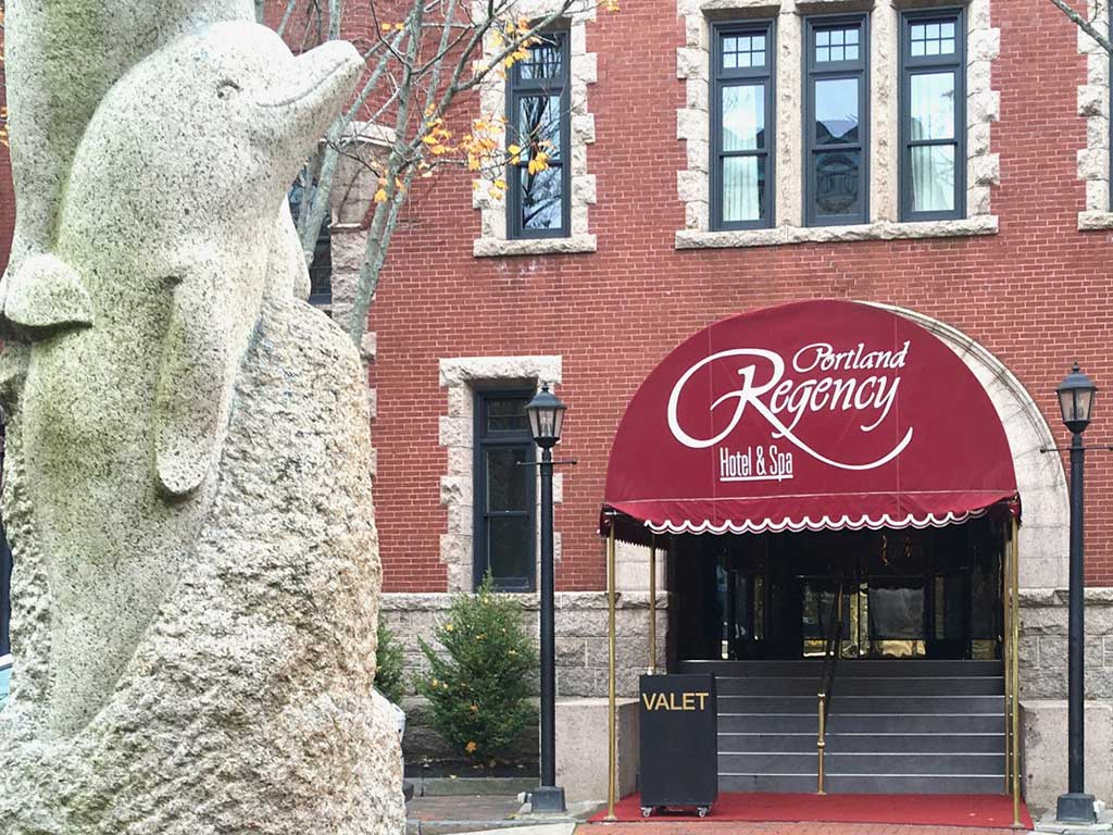 West End News - Dining Out Thanksgiving - Regency Hotel exterior