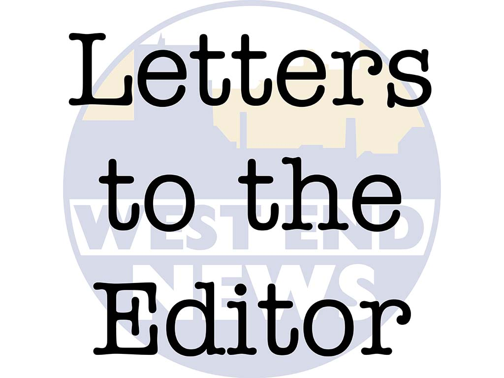 West End News - Letters to the Editor webfeat image