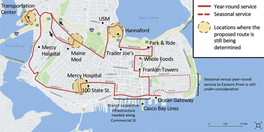 West End News - Metro Proposed Peninsula Circulator