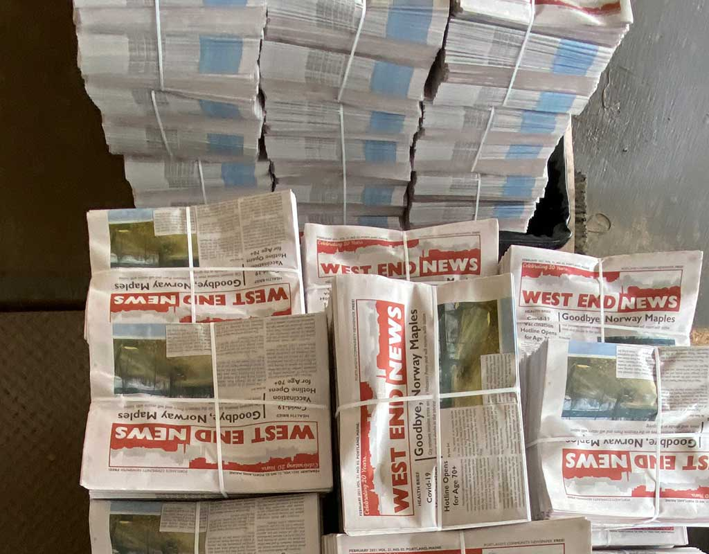 West End News - Stacks at distribution center