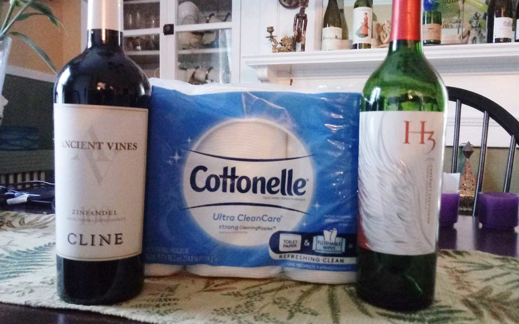 West End News - for Wine Direct to Your Door - Cottonelle and wine - Photo by Layne V. Withereall