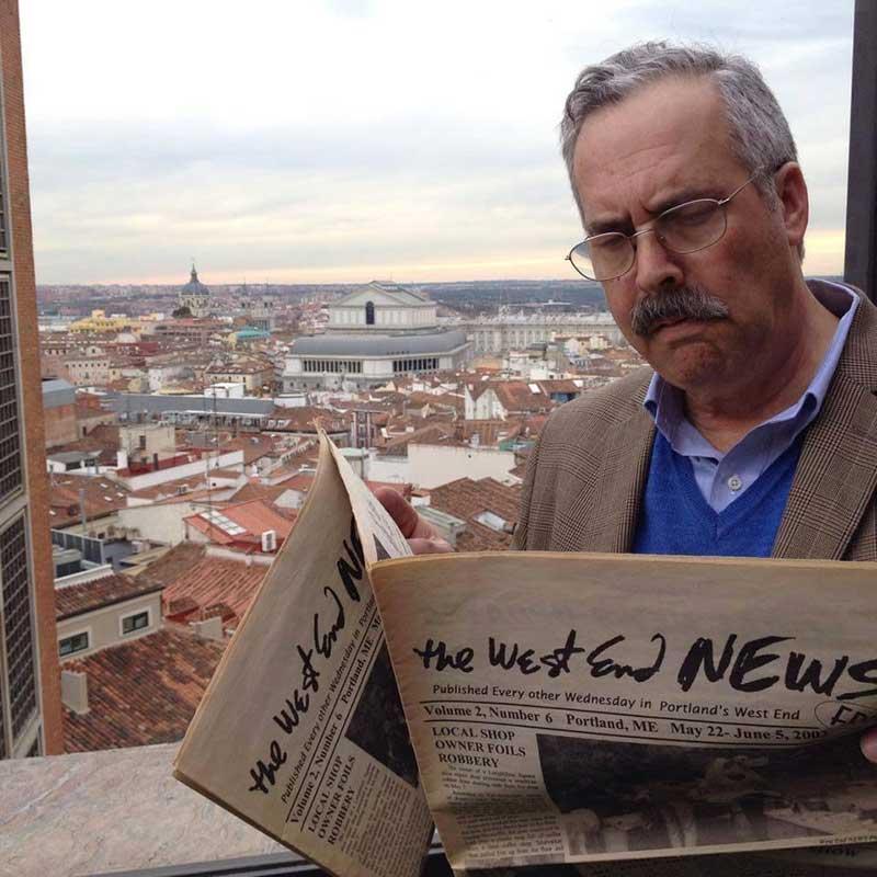 West End News - Harlan Baker in Madrid, Spain