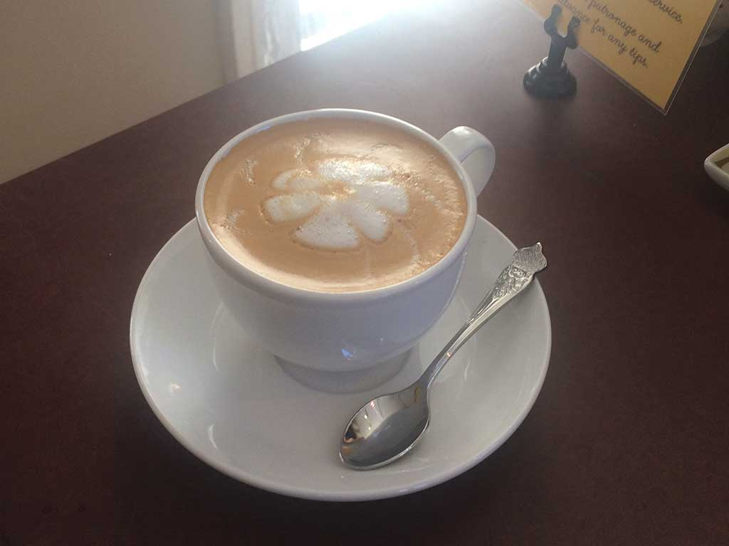 West End News - Latte - Coffee at shop
