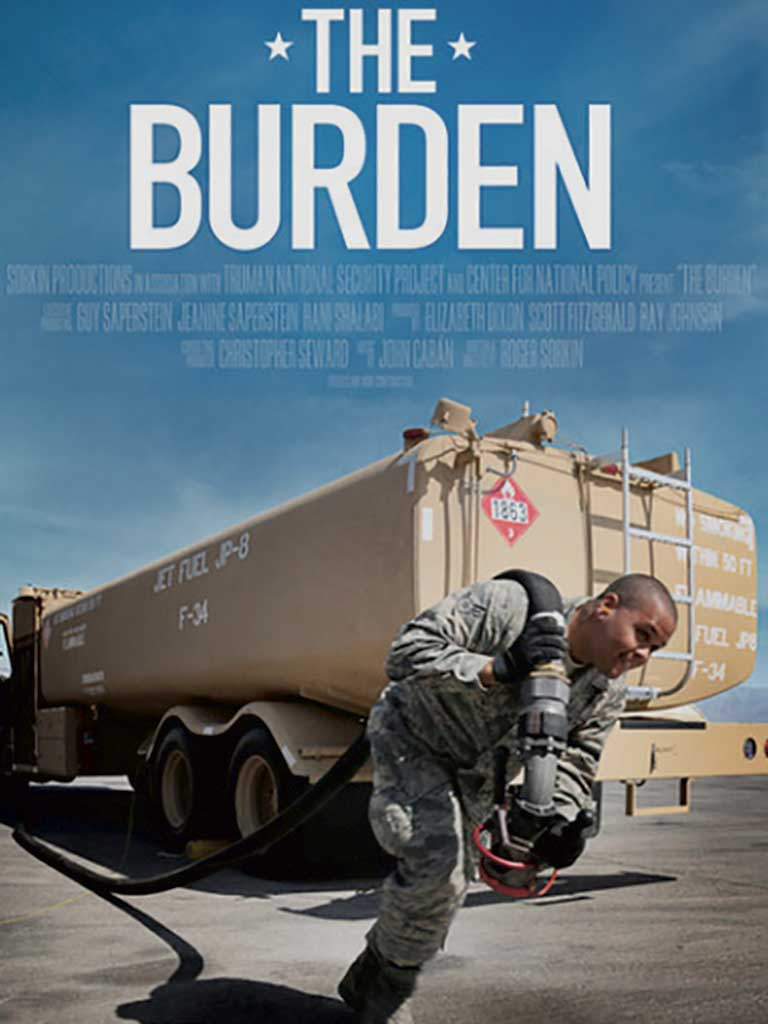 West End News - The Burden Documentary poster cropped