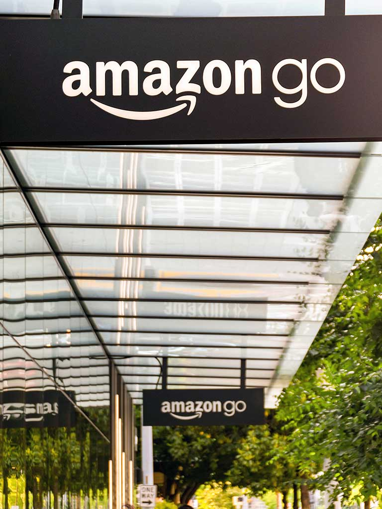 West End News - Amazon Go stock photo for editorial use only - By Cerib/Adobe Stock