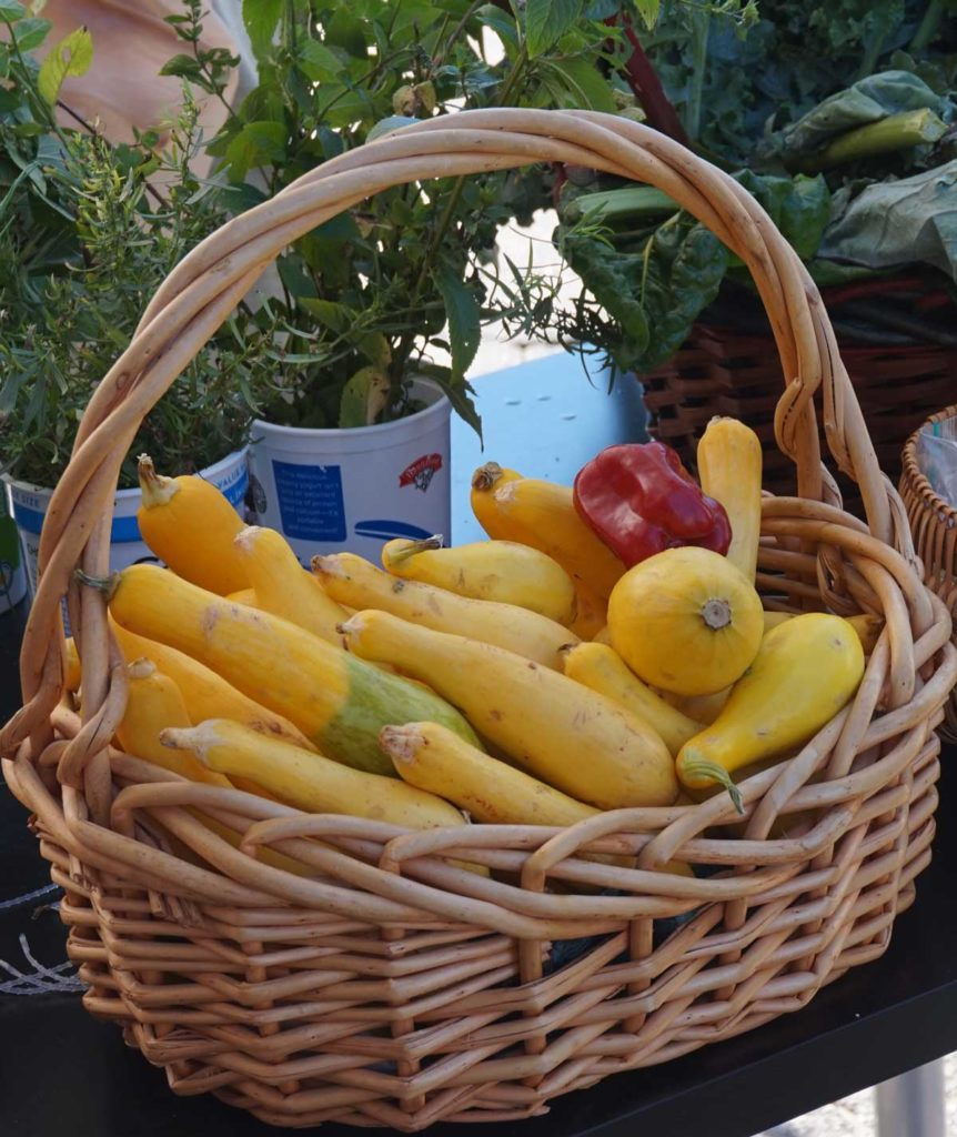 West End News - What We Eat Matters - Basket of veggies