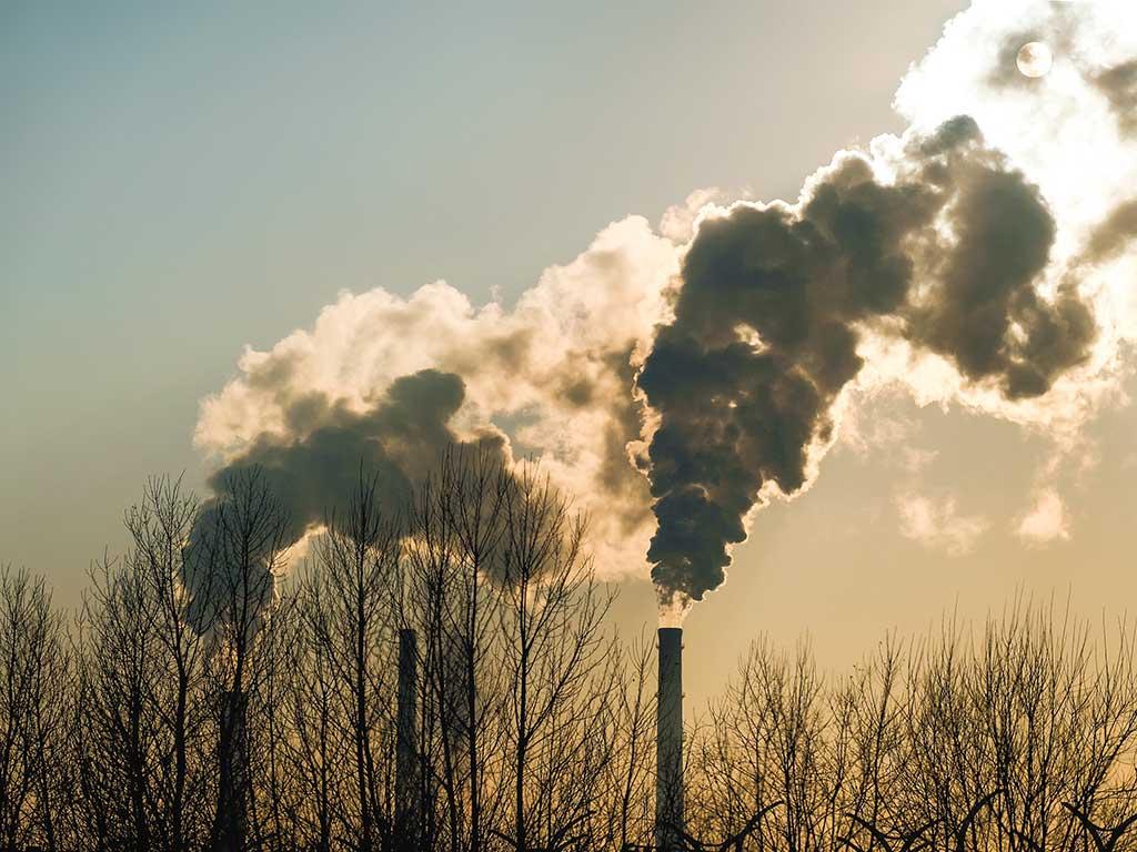 West End News - Smokestacks Adobe stock photo for